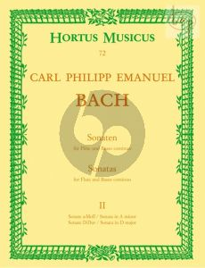 Bach Sonatas Vol.2 Flute-Bc (edited by Kurt Walther)