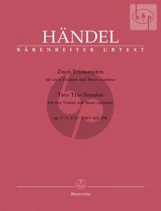 2 Triosonatas from Op.5 No.1 and 7 (2 Vi.-Bc) (Score/Parts)