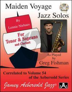 Maiden Voyage Jazz Solos Tenorsax/Sopranosax Correlated to Aebersold Vol.54