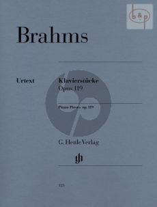 Klavierstucke Op.119 (edited by Katrin Eich)
