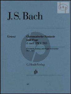 Chromatische Fantasie und Fuge d-moll BWV 903 Klavier