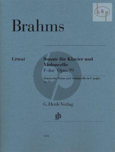 Sonate F-dur Op.99 Violoncello and Piano
