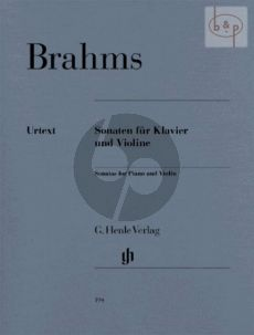 Brahms Sonaten edited Hans O. Hiekel fingering Hans-Martin Theopold and Karl Röhrig Henle Urtext