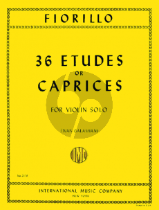 Fiorillo 36 Etudes or Caprices (Galamian)