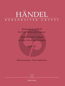 Handel Concerto g-moll (HWV 287) (Flote[Oboe]) (KA)