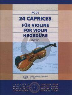 Rode 24 Caprices Violine (Garay)