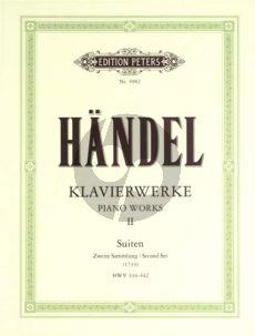 Handel Klavierwerke Vol.2 (Suiten Zweite Sammlung)