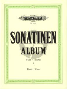 Album Sonatinen Album Vol.1 Klavier (Kohler/Ruthardt) (Peters)