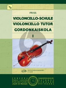 Friss Violoncello Tutor Vol.1 (1st.Pos.)