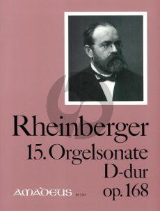 Rheinberger Sonate No.15 D-dur Opus 168 Orgel (Bernhard Billeter)