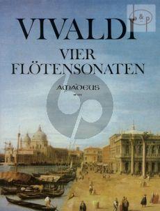 4 Sonaten Flute-Bc.