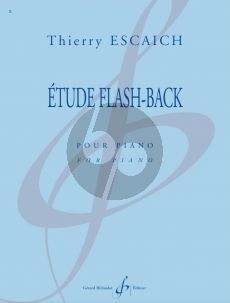 Escaich Etude Flash-Back pour Piano