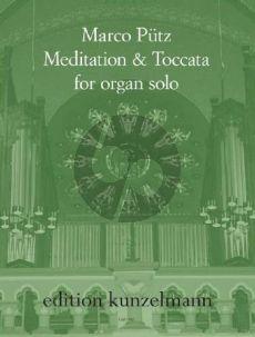 Putz Meditation & Toccata Orgel