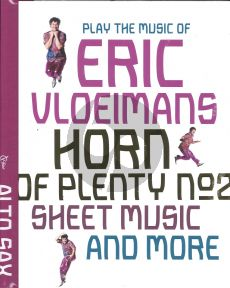 Vloeimans Horn of Plenty for Alto Saxophone Deel 2 (book with online audio file)