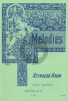 Hahn 40 Melodies Vol.1 (20 melodies) (Original Keys)