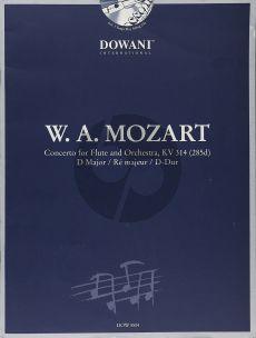 Mozart Concerto D-major KV 314 Flute (Solo Part-CD) (Dowani)