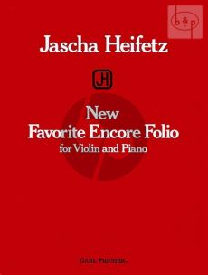 New Favorite Encore Folio for Violin and Piano