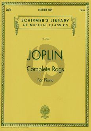 Joplin Complete Rags for Piano