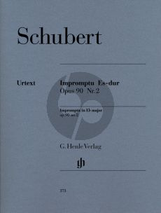 Schubert Impromtu E-flat major Op.90 No.2 (edited Walter Gieseking) (Henle-Urtext)