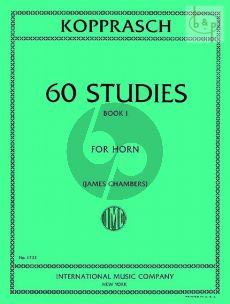 60 Studies for Horn Vol.1