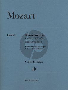 Mozart Konzert G-dur KV 453 (Ed. 2 Klaviere) (Horner/Schif) (Orig. Kadenzen) (Henle-Urtext)