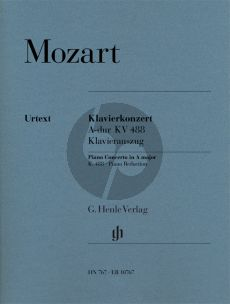 Mozart Concerto A-major KV 488 (Piano-Orch.) (piano red.) (Henle-Urtext)