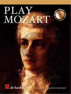 Play Mozart for Clarinet (Bk-Cd) (easy-interm.) (arr Roland Kernen) (grade 3)