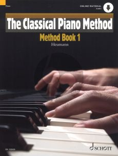 Heumann The Classical Piano Method Vol.1 (Bk-Cd)