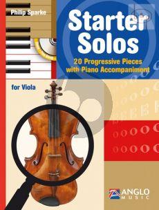 Starter Solos (20 Progressive Pieces) (Viola-Piano)