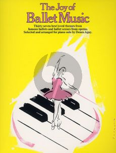 The Joy of Ballet Music for Piano
