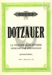 Etuden Vol.1 (Nos.1 - 34) Violoncello