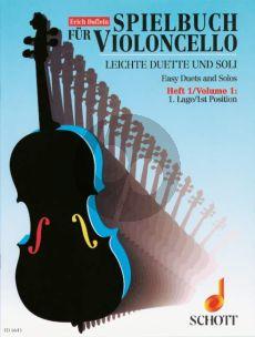 Spielbuch fur Violoncello Vol.1 (1st.Pos.) (1 - 2 Violoncelli)
