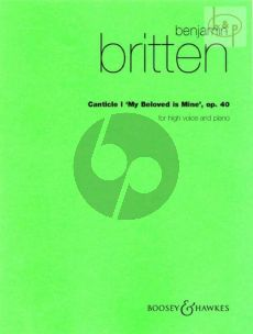 Canticle no.1 (High Voice) op.40