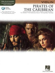 Pirates of the Caribbean for Violin (Bk-Audio Acces)
