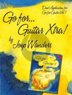 Wanders Go for Guitar Xtra (2nd Guitar Parts - Duet Application for Go For Guitar Vol.1) (2e Gitaarpartijen bij Go For Guitar Vol.1)
