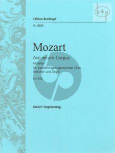 Ave Verum Corpus KV 618 SATB-Strings-Organ