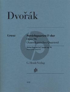 Dvorak Quartet F-major Op. 96 (American Quartet) 2 Vi.-Va.-Vc. Parts