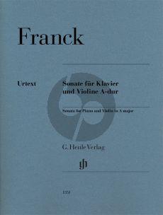 Franck Sonate A-dur Violine-Klavier (ed. Peter Jost) (Henle)