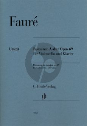 Faure Romance A-major opus 69 Violoncello and Piano