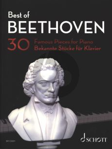 Best of Beethoven Piano solo (30 Famous Pieces) (edited by Hans-Günter Heumann)