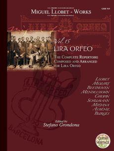 Llobet Guitar Works Vol. 15 Lira Orfeo (Stefano Grondona)