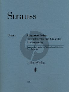Strauss Romance F-major for Cello and Piano (Peter Jost)