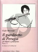 Briccialdi Il Giardinetto di Perugia Op.135 Flute-Piano