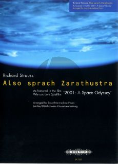 Strauss R. Also Sprach Zarathustra (Operning Theme) Piano solo (from Film Space Odyssey) (arr. Ian Flint)