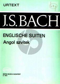 English Suites (BWV 806 - 811) Klavier