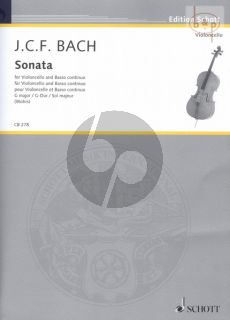 Sonata G-major Violoncello-Bc