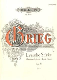 Grieg Lyrische Stücke Vol.2 Op.38 Klavier