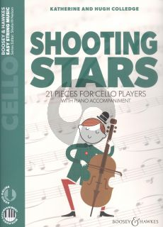 Colledge Shooting Stars Violoncello-Piano (21 Pieces) (Book with Audio online)