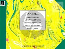 Diabelli Melodische Ubungstucke Op.149 Klavier 4 Hd. (Rauch)