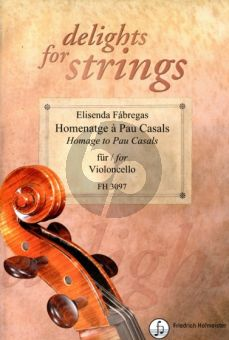 Fabregas Homenatge à Pau Casals Violoncello solo